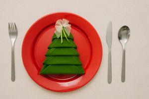 Божиќни и новогодишни салвети