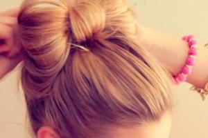 Како сами да направите панделка од вашата коса?