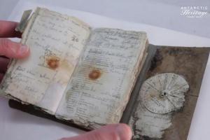 По 100 години пронајден дневник од трагичната експедиција на Антарктик