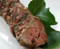 Сочно печено месо