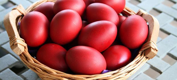 Црвено јајце – симбол за Велигден