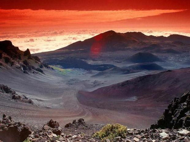 Легенда за Халеакали - кратерот во кој било заробено Сонцето, Legenda za Haleakali kraterot vo koj bilo zarobeno Sonceto, zanimlivost, legendi, krater, sonce, Haleakali, Havai, занимливост, легенди, кратер, сонце, Халеакали, Хаваи