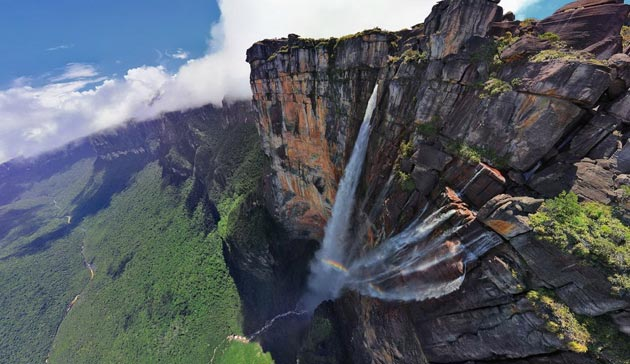 Сте слушнале ли за Ангелскиот водопад - највисокиот водопад во светот?, Ste slusnale li za Angelskiot vodopad najvisokiot vodopad vo svetot, zanimlivost, interesno, vodopad, najvisok vodopad, Angelski vodopad, занимливост, интересно, водопад, највисок водопад, Ангелски водопад