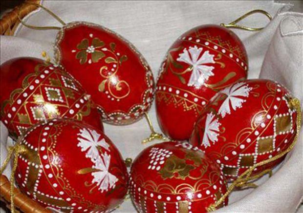 Црвено јајце – симбол за Велигден, Crveno jajce - simbol za Veligden