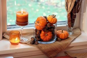 Есенски декорации од тиква